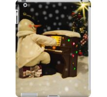 Merry Christmas To All iPad Case/Skin
