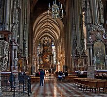 Mass At St. Stephen's Cathedral by phil decocco