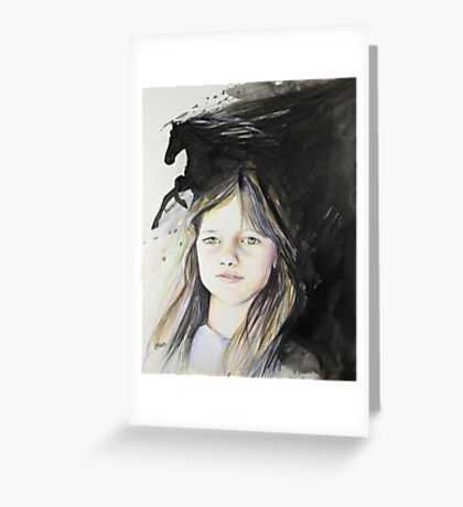 Kerry (commissioned work) Greeting Card