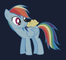 "Rainbow Dash - ""Chicks"" Textless ver. Baby Tee"