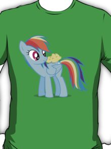 "Rainbow Dash - ""Chicks"" Textless ver. T-Shirt"
