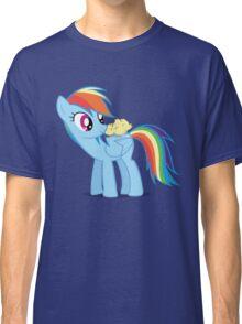 "Rainbow Dash - ""Chicks"" Textless ver. Classic T-Shirt"