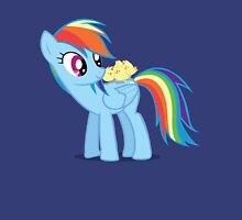 "Rainbow Dash - ""Chicks"" Textless ver. Unisex T-Shirt"