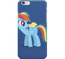 "Rainbow Dash - ""Chicks"" Textless ver. iPhone Case/Skin"