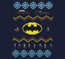 Ugly Batman Christmas Sweater by dandyman