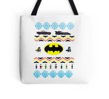 Ugly Batman Christmas Sweater Tote Bag