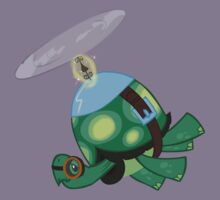 Tank: The Tortoise (Helicopter) Kids Tee