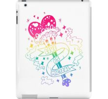 Wands Words of Wisdom iPad Case/Skin