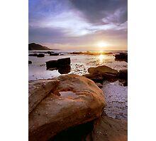 Coalcliff Sunrise Photographic Print