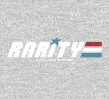 Rarity: A Real Equestrian Pony (Borderless Version) Kids Tee