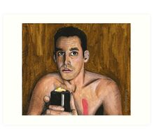 Bewitched, Bothered and Bewildered - Xander - BtVS Art Print