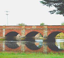 Red Bridge- Tasmania , Australia by Philip Johnson