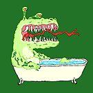 A Dragon in a Bathtub by vigorousjammer