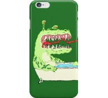 A Dragon in a Bathtub iPhone Case/Skin