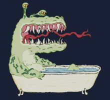 A Dragon in a Bathtub Kids Clothes
