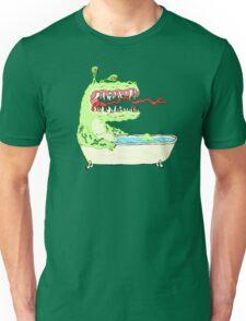 A Dragon in a Bathtub Unisex T-Shirt
