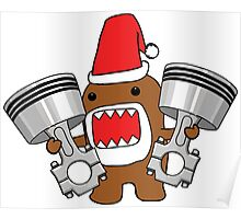 Domo Clause read my Christmas List Poster