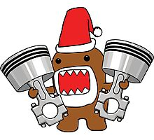 Domo Clause read my Christmas List Photographic Print