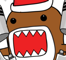 Domo Clause read my Christmas List Sticker