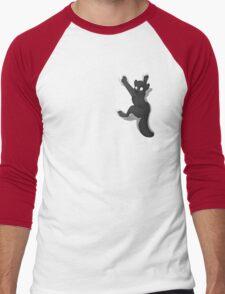 Don't Fall _ Black Wolf Men's Baseball ¾ T-Shirt