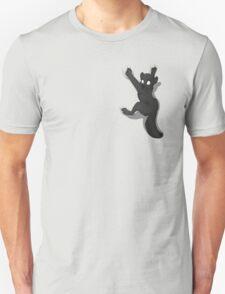 Don't Fall _ Black Wolf Unisex T-Shirt
