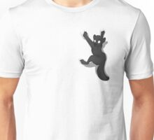 Don't Fall _ Black Wolf Unisex T-Shirt