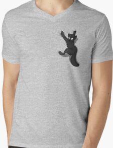 Don't Fall _ Black Wolf Mens V-Neck T-Shirt