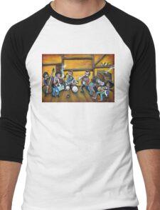 When I Paint My Masterpiece Men's Baseball ¾ T-Shirt