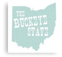 Ohio State Motto Slogan Canvas Print