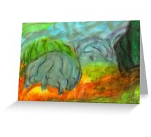 Pastel Landscape Greeting Card
