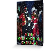 Merry Morphinominal Christmas Greeting Card