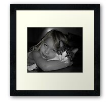 Cheek To Cheek Framed Print