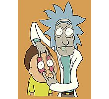 Look, Morty! Photographic Print