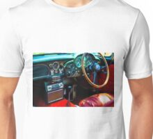English car interior Unisex T-Shirt