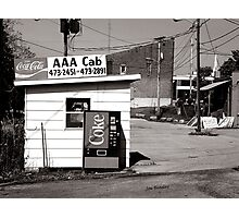 AAA Cab Photographic Print