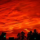 When the sky goes red by kaylarenee