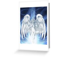 Rise of an angel Greeting Card