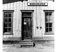 Railroad Depot Manchester Tennessee Photographic Print