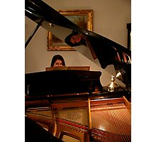 The Piano and its Player Photographic Print
