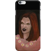 Doppelgangland - Vampire Willow - BtVS iPhone Case/Skin