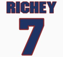 National football player Wade Richey jersey 7 by imsport