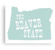 Oregon State Motto Slogan Canvas Print