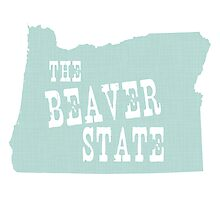 Oregon State Motto Slogan Photographic Print