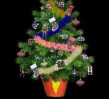 Power Rangers Oh Christmas Tree by Joe Bolingbroke