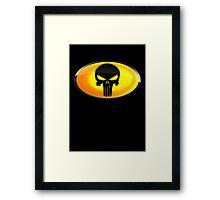 The Dark Knight Of Punishment Framed Print