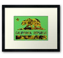 Cali Republic of Dank  Framed Print