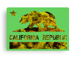 Cali Republic of Dank  Canvas Print
