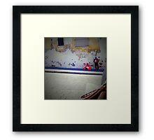Accordion player, Cuernavaca, Mexico Framed Print