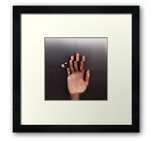 Trip Hand Framed Print