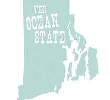 Rhode Island State Slogan Motto by surgedesigns